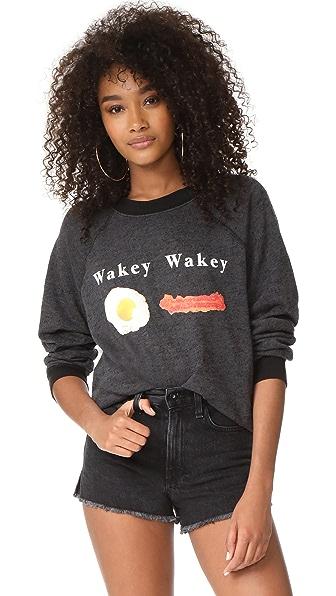 Wildfox Wakey Wakey Sweatshirt