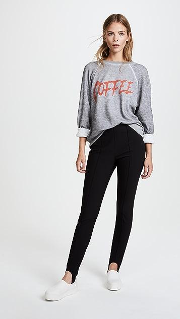 Wildfox Coffee Sommers Sweatshirt Tee