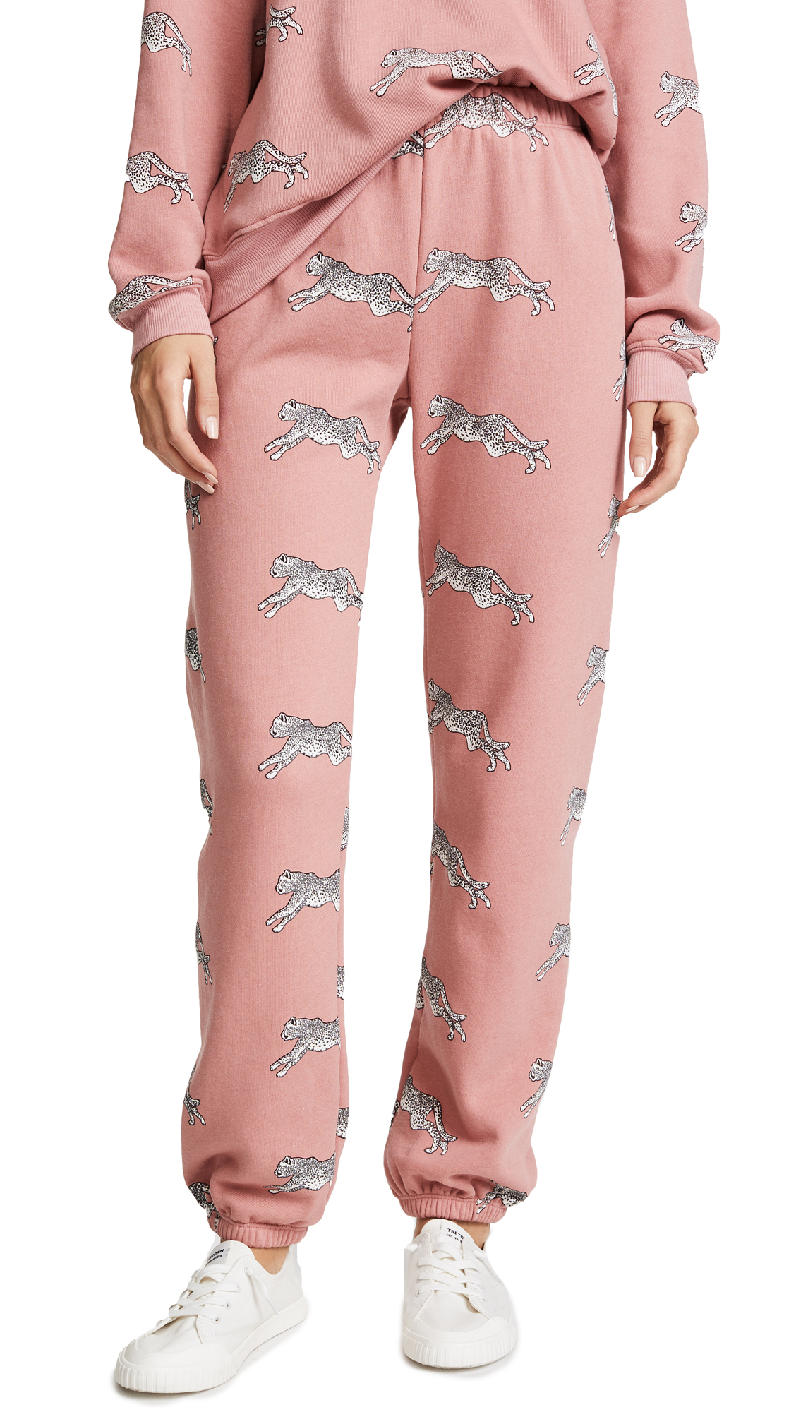 Wildfox Snow Leopards Sweatpants