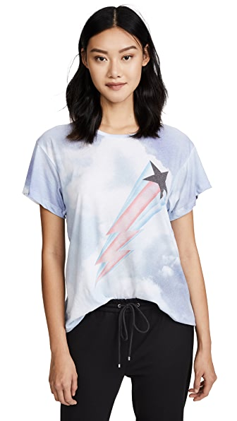 Wildfox Heavens Manchester Tee In Multi