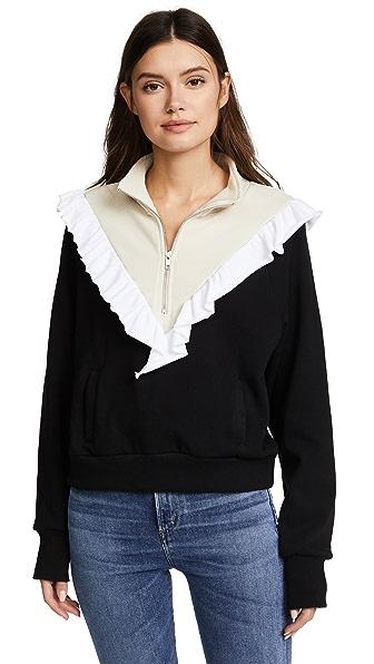 Wildfox Prima Warm Up Pullover