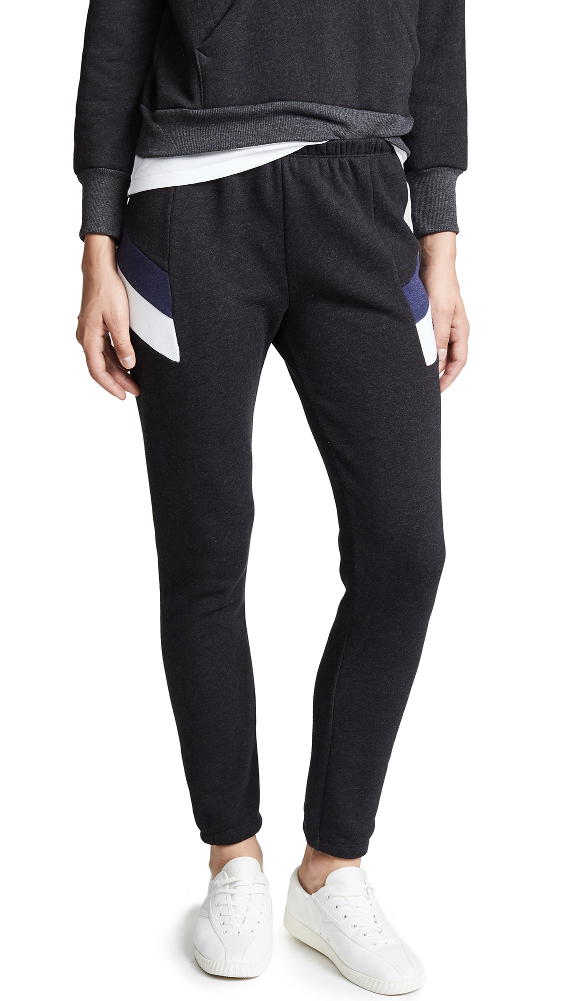 Wildfox Sport Knox Pants In Clean Black