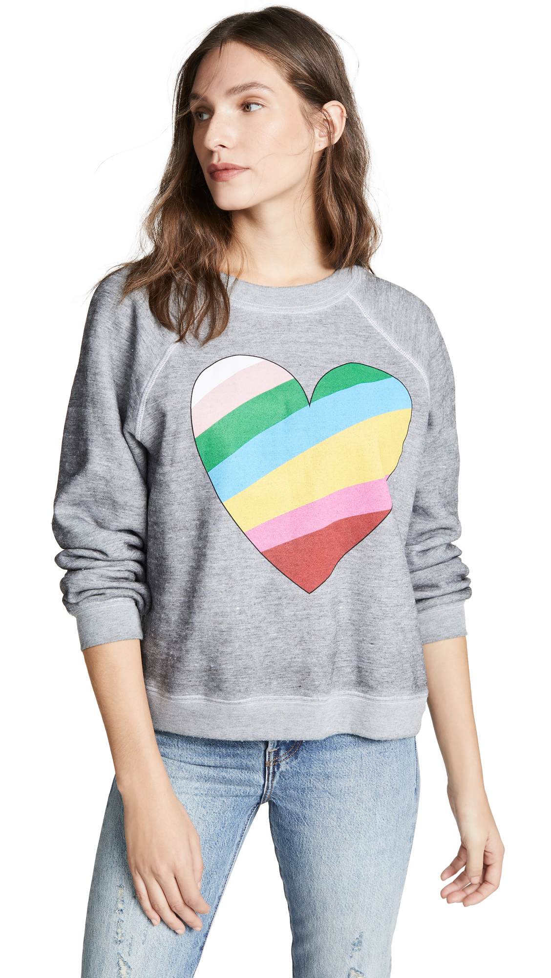 Sommers Love Hearts Sweatshirt, Heather