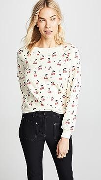 Wildfox Cherry Oh Baby Sweatshirt