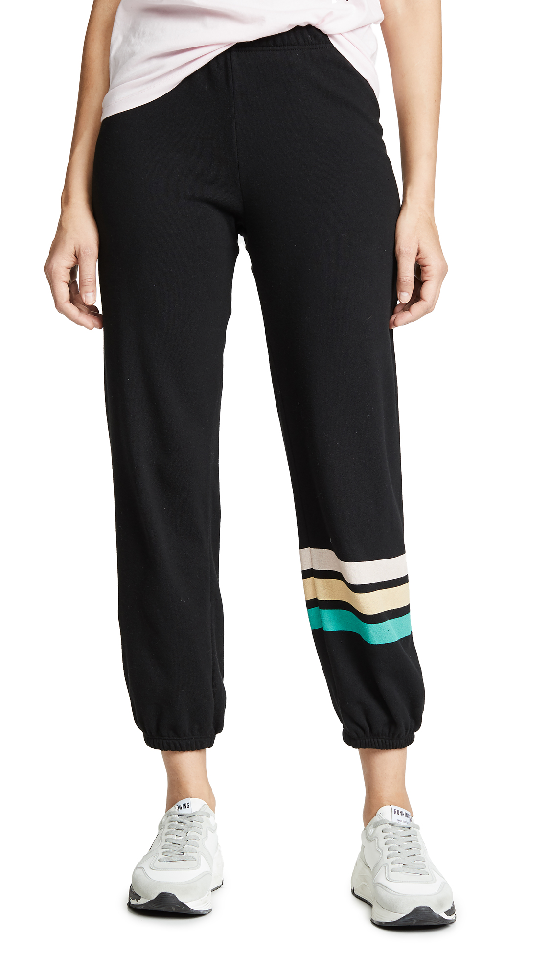 Wildfox Easy Vintage Stripe Sweatpants