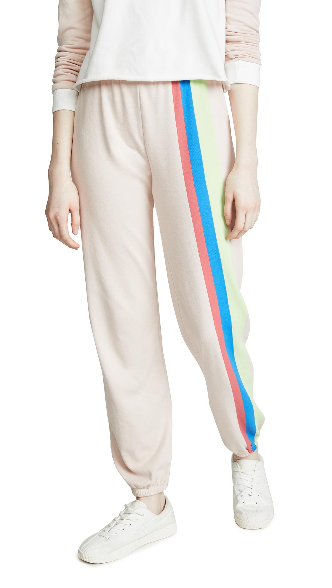 Wildfox Mellow Stripe Easy Sweatpants