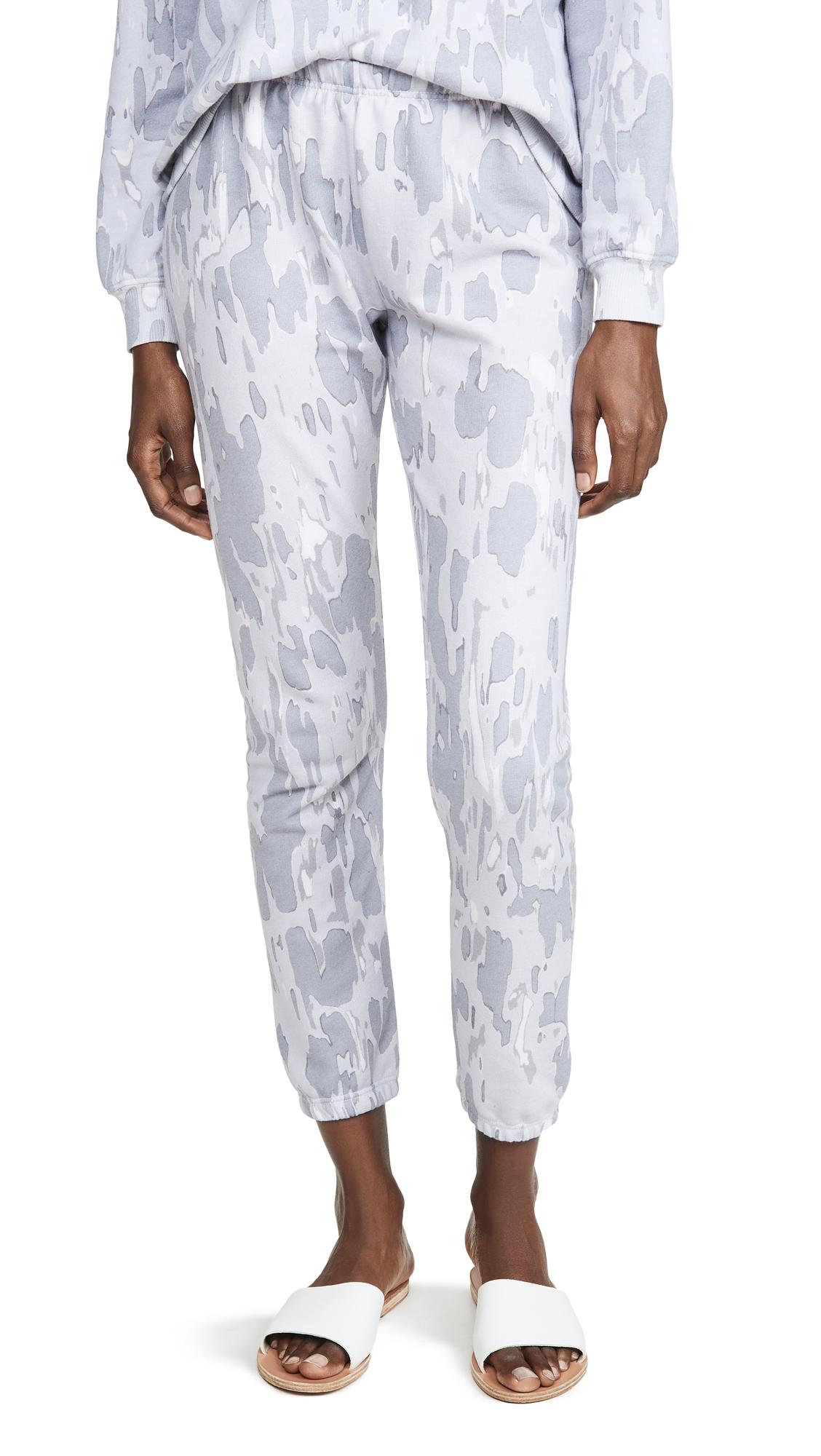 Wildfox Camo Sweatpants In Multi Colored