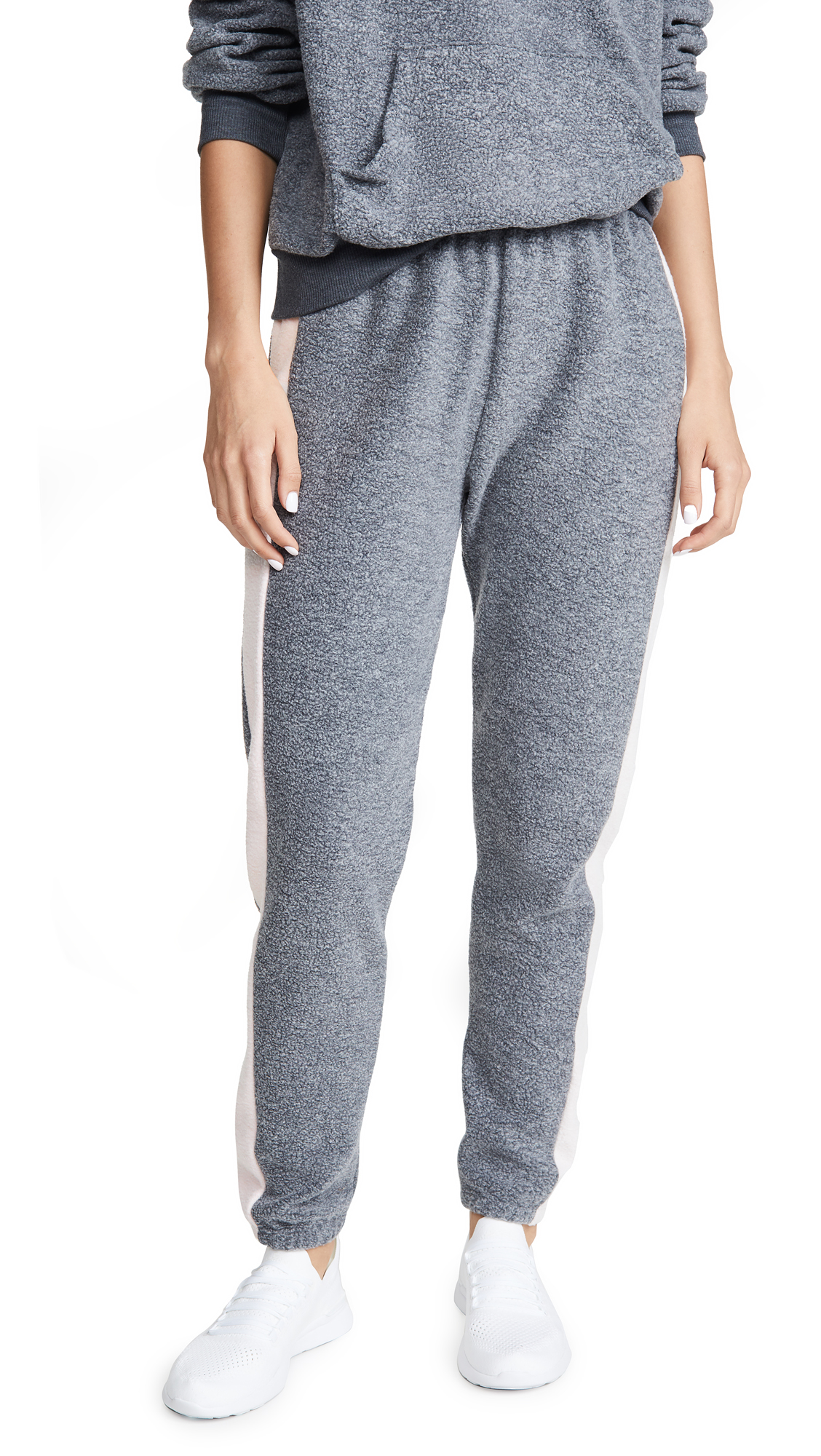 Wildfox Track Pants In Night Rose