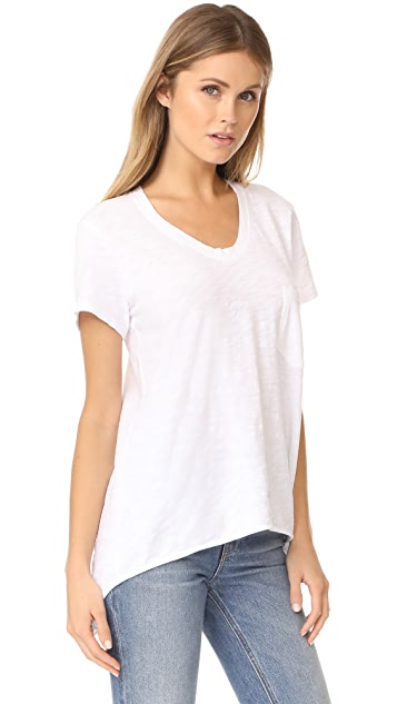 Wilt Vintage Slouchy V Neck Tee