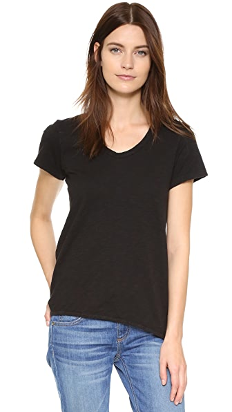 Wilt Shruken Boyfriend Tee - Black