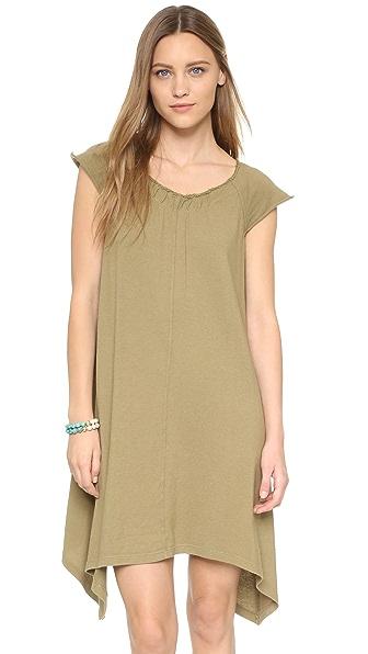 Wilt Flutter Peasant Dress