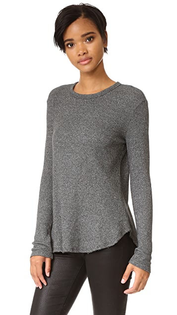 Wilt Twist Hem Thermal Top