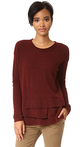 Wilt Mock Layered Sweater