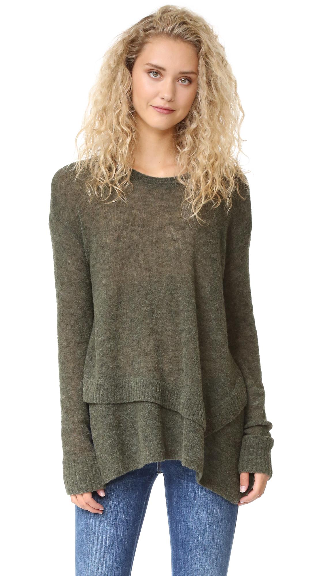 Wilt Mock Layered Tunic Sweater | SHOPBOP