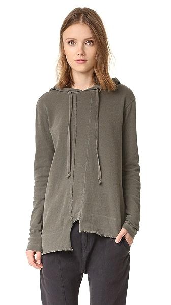 Wilt Пуловер с капюшоном и необработанным низом