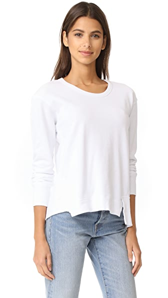 Wilt Big Raw Seamed Mixed Sweatshirt