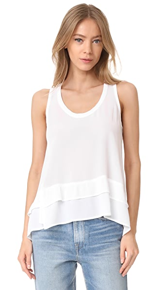 Wilt Tie Baby Doll Top - White