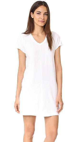 Wilt Baby Tee Dress - White