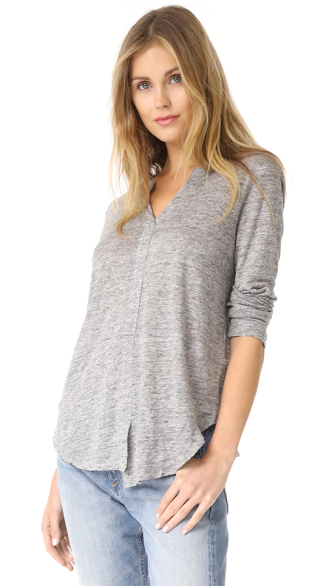 Wilt Linen Shifted Pullover