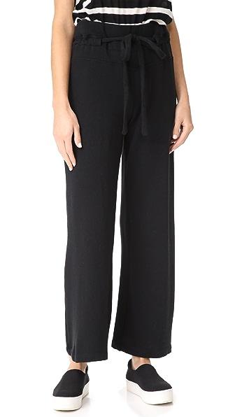Wilt Wide Leg Sweatpants In Black
