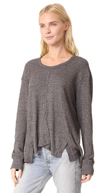 Wilt Thermal Vented Big Sweatshirt