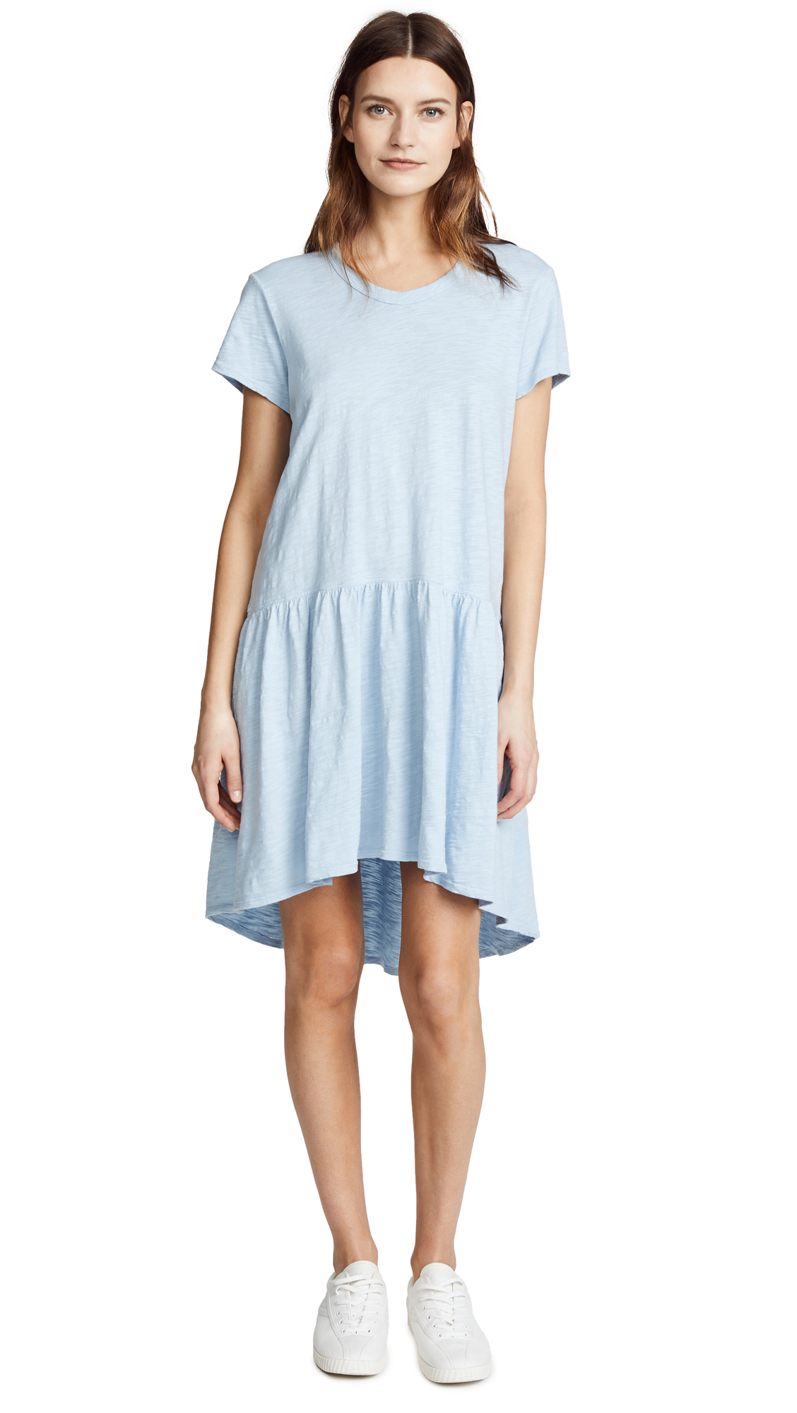 Wilt Drop Waist Tee Dress In Sky