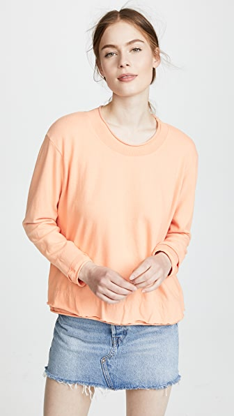 ROLLED EDGE PULLOVER