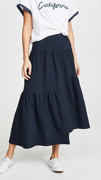 e59c8a266 Wilt Long Tiered Skirt In Ink | ModeSens