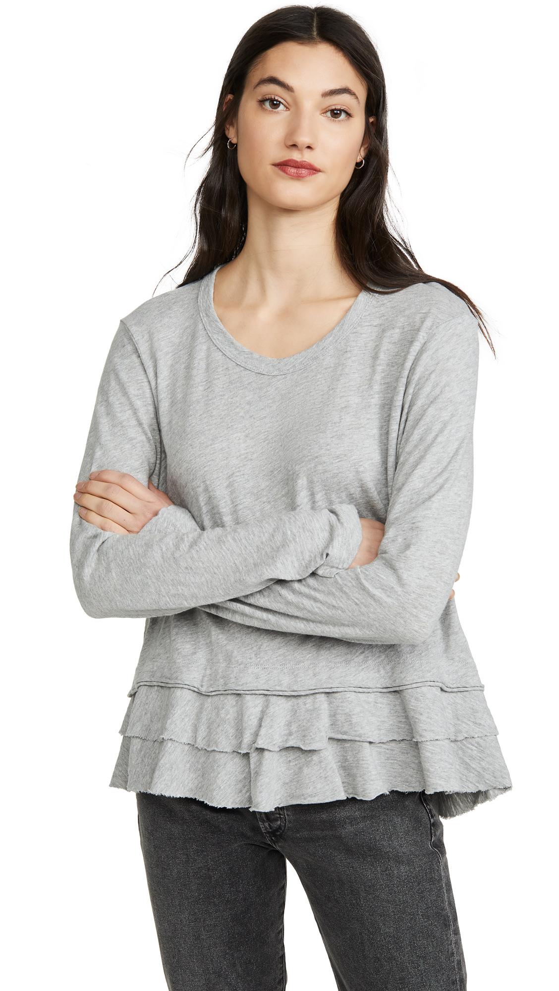 Buy Wilt online - photo of Wilt Double Tier Mock Hem Tee