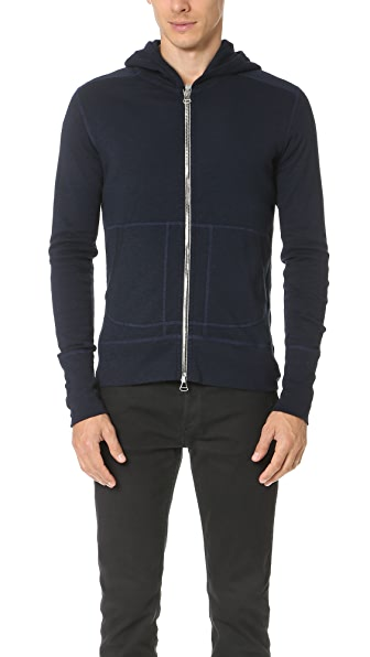 Wings + Horns Base Full Zip Hoodie