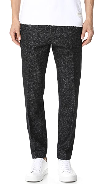 Wings + Horns Knit Wool Officer Pants