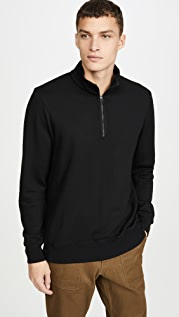 Wings + Horns Merino Half Zip Pullover