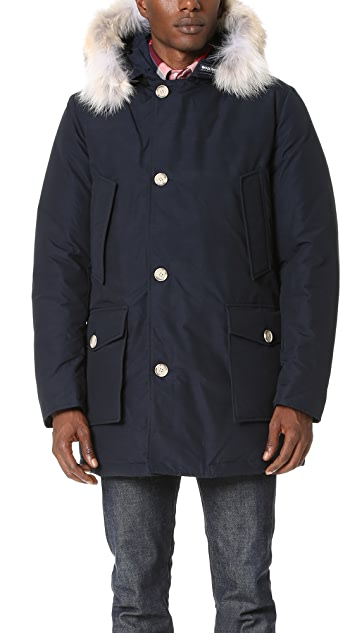 Woolrich John Rich & Bros. Arctic Parka with Fur Collar