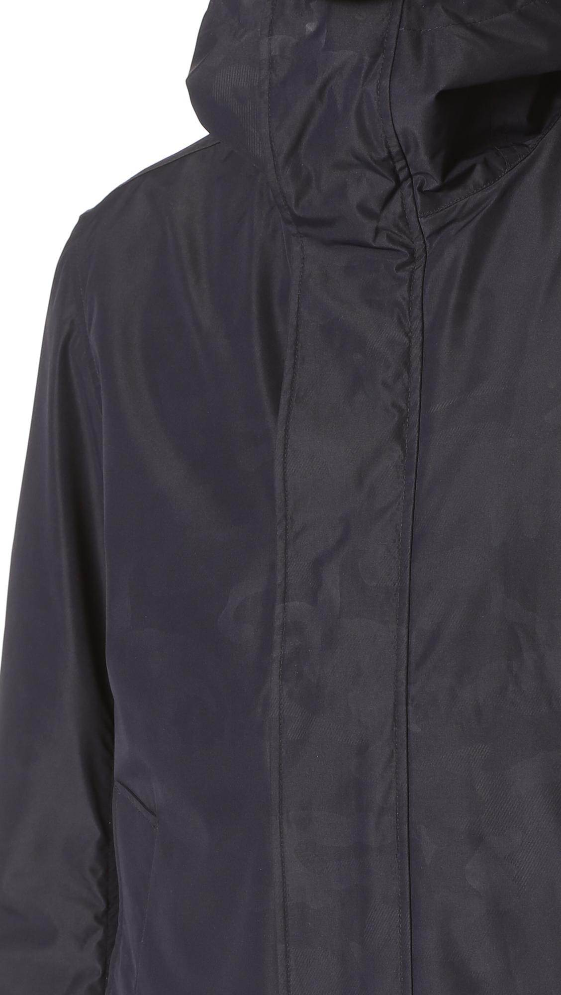 Woolrich John Rich Bros Camouflage Rudder Jacket East Dane Hugo Boss Endrio Hitam