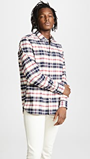 Woolrich John Rich & Bros. Check Flannel Shirt