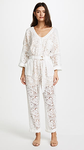 We Are Kindred Gisella Lace Jumpsuit at Shopbop