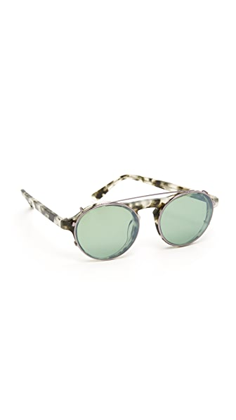 Westward Leaning Dyad 7 Clip Sunglasses