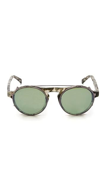 Westward Leaning Dyad 7 Clip Sunglasses