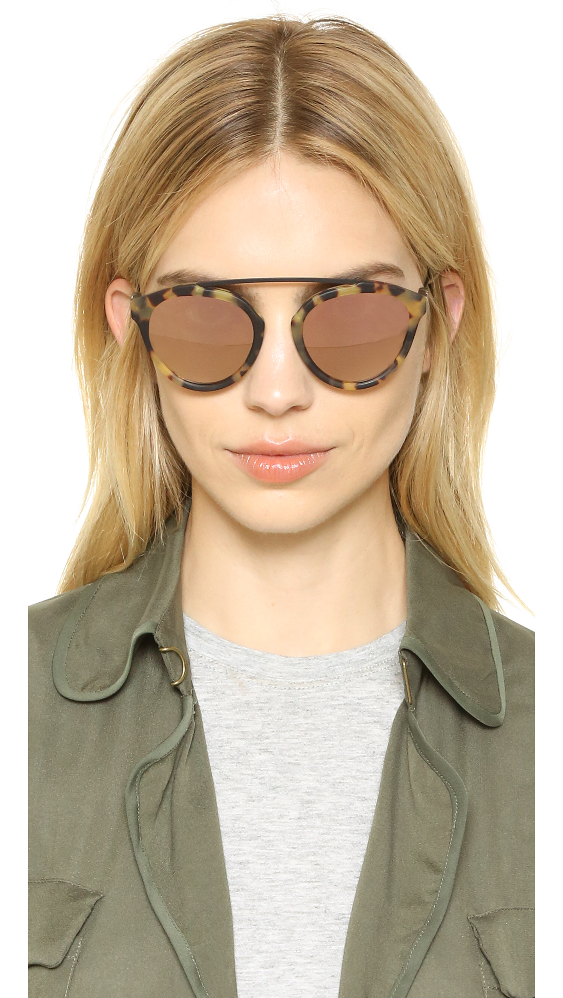 4f99d595ffa Westward Leaning Olivia Palermo x Westward Leaning Flower 13 Sunglasses
