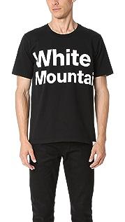 White Mountaineering Printed Tee