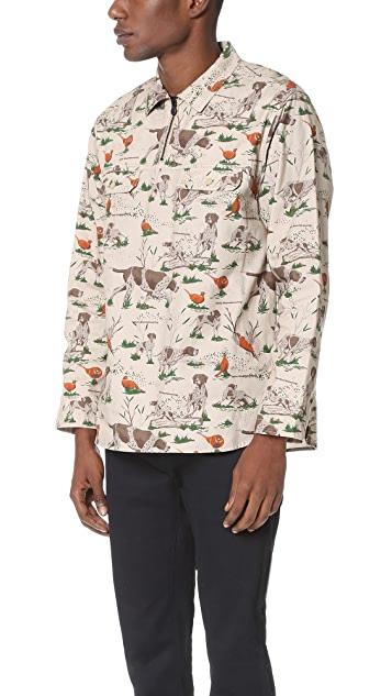 White Mountaineering Hunting Pattern Popover