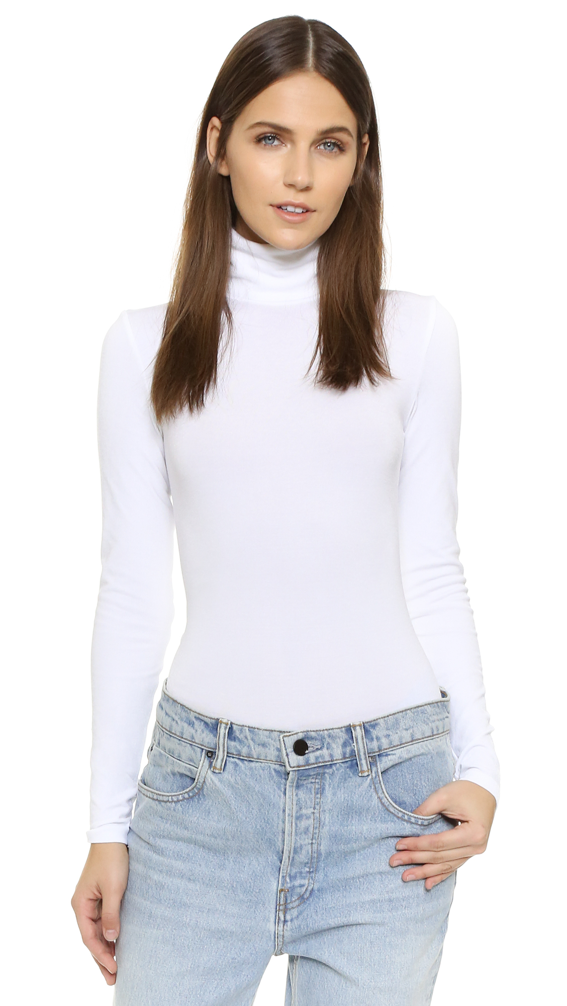 Wolford Colorado String Bodysuit In White