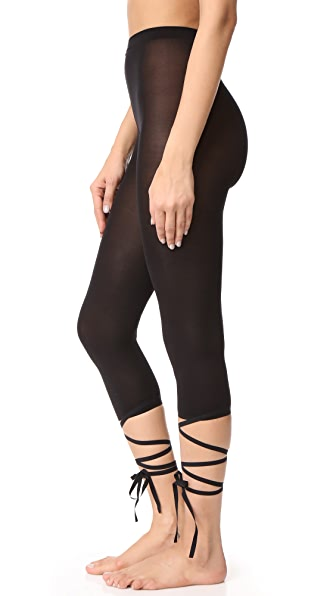 Wolford Lace Up Capri Tights | SHOPBOP