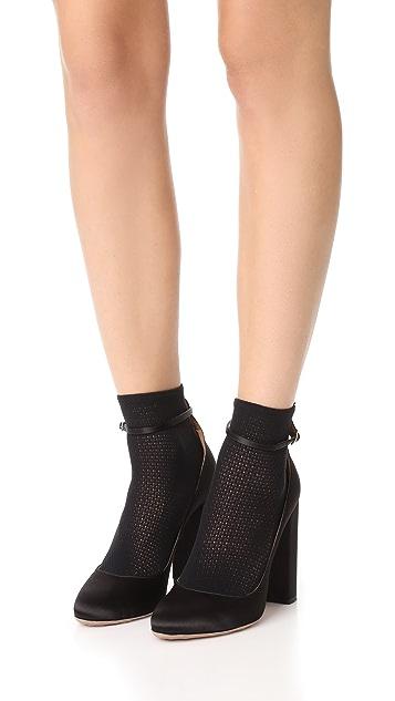 Wolford Rhomb Net Socks