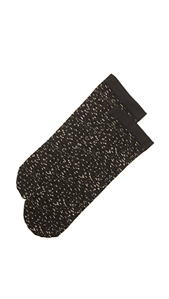 Wolford Matrix Socks - Black/Matrix
