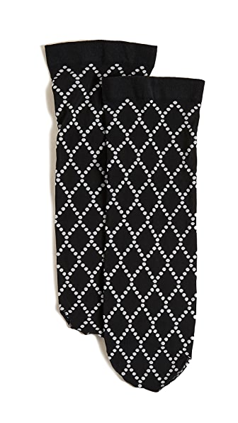Wolford Dot Net Socks