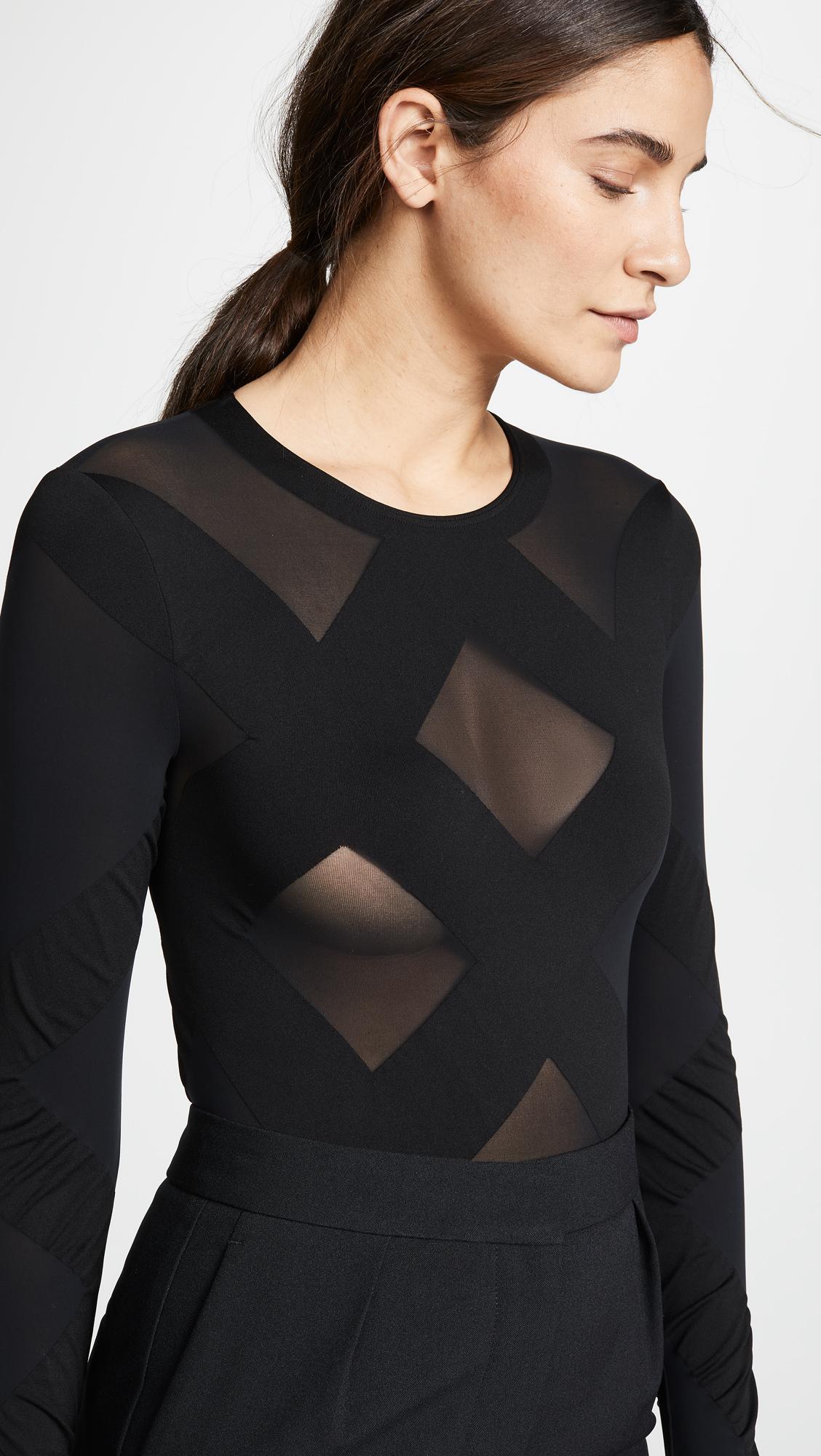 1a75a4995d299 Wolford Anita String Bodysuit | SHOPBOP