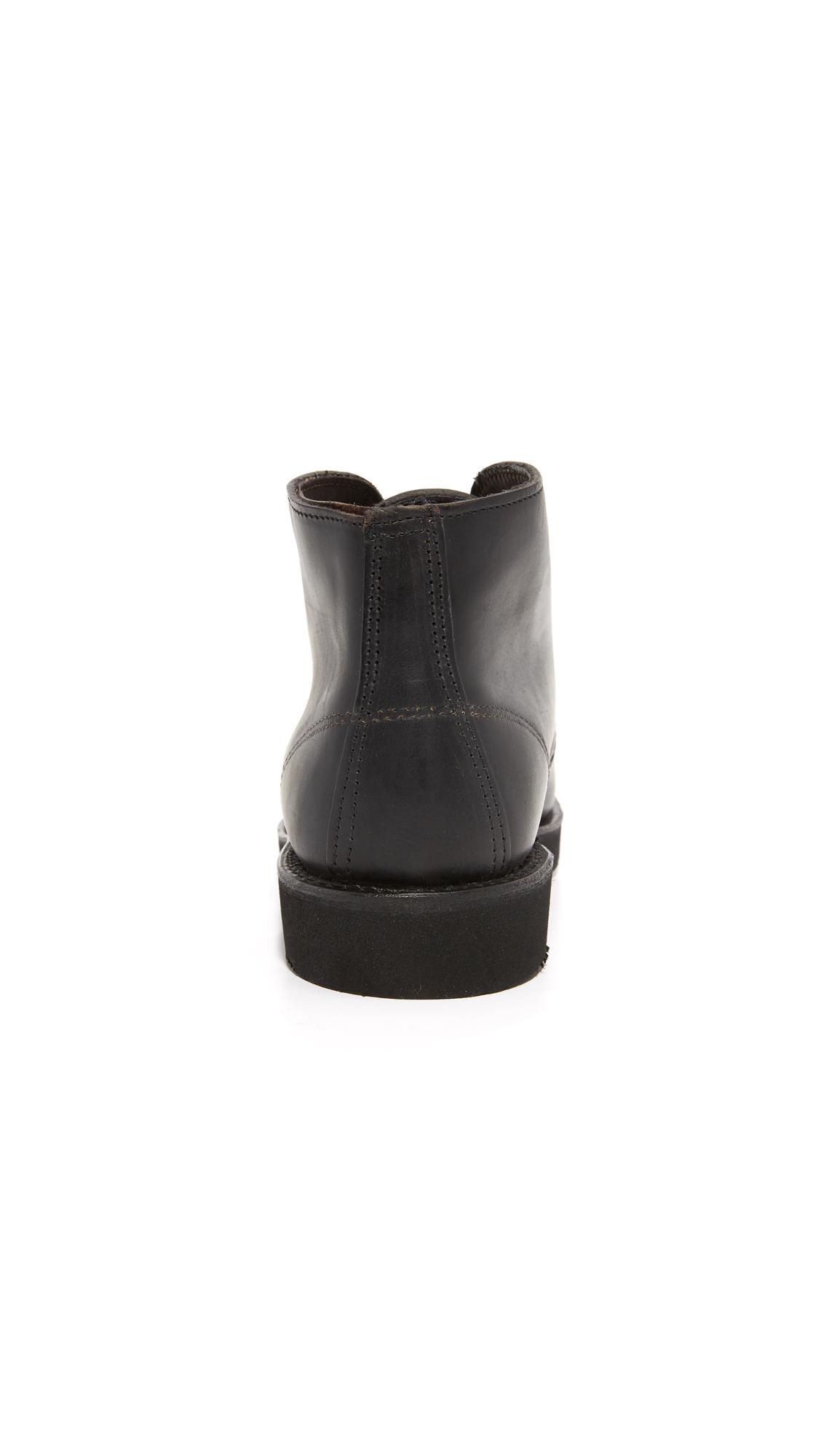 Wolverine 1000 Mile Palmer Chukka Boots East Dane D Island Shoes Slip On Dark Brown Leather