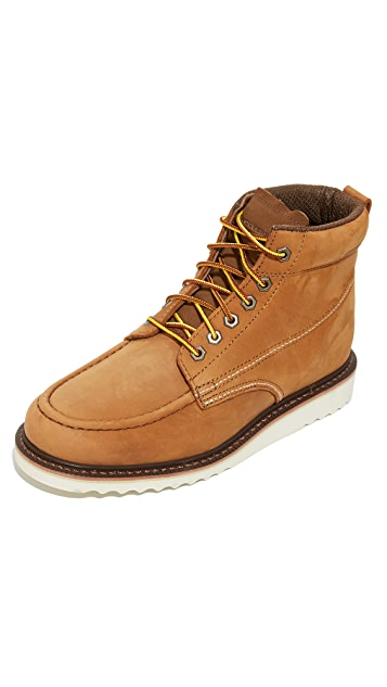 Wolverine 1883 Ranger Moc Toe Boots