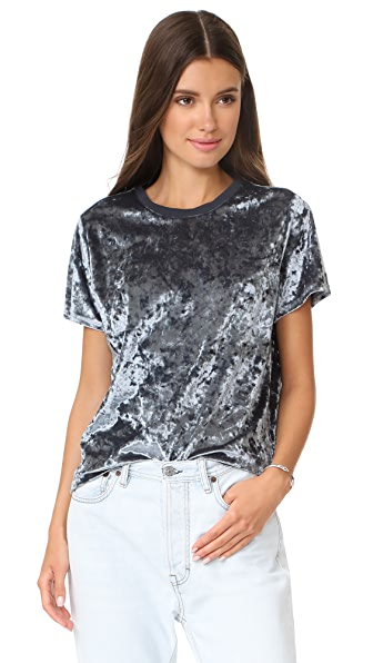 Won Hundred Emilie Short Sleeve Top - Silver